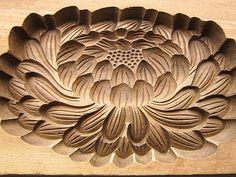 "Vintage Japanese Kashigata Mold Chrysanthemum by VintageFromJapan, $55.00 13"" x 5"