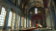 This is something like what I would picture the king s throne room looking like in the Throne of Glass seri Fantasy castle Fantasy inspiration Medieval fantasy