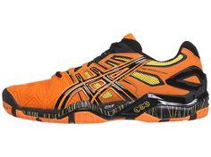 Asics Gel Resolution 5 Orange/Black Men's Shoes