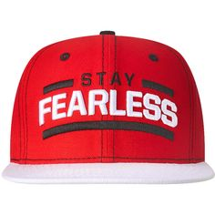 c40f884f34a Nikki Bella Stay Fearless White Brim Snapback WWE Baseball Cap Hat  Brand  new officially licensed product.