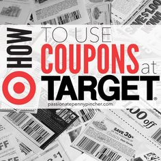 New to saving at Target? Here's a quick tutorial showing how to use coupons at Target. Extreme Couponing, Couponing At Target, Living On A Budget, Frugal Living, Real Fit, Couponing For Beginners, Savings Challenge, Saving For Retirement, Interesting Information