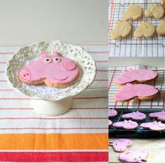 My Cookingdom: Gorgeous George Pig Cookies