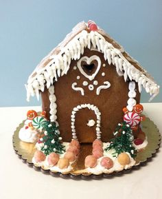 Sweet and safe: an allergy-free gingerbread house kit without gluten, dairy, eggs, soy, peanuts or tree-nuts.