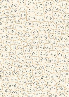 39 Cute Cat Wallpaper for Cat People wallpaper,cat wallpaper,cat,pet Cute Cat Wallpaper, Cute Wallpaper Backgrounds, Pattern Wallpaper, Cute Wallpapers, Iphone Wallpaper, Cat Pattern, Pattern Design, Textures Patterns, Print Patterns