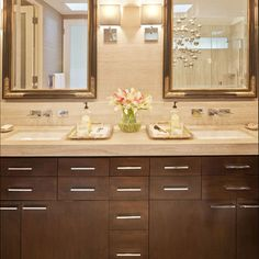 Custom Vanity With Undermount Sink Design, Pictures, Remodel, Decor and Ideas