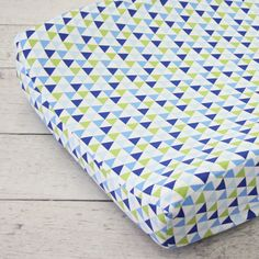 Changing Pad Cover - Preppy Navy