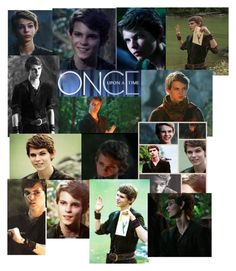"""Once Upon A Time - Peter Pan"" by katthecatlover ❤ liked on Polyvore featuring art"