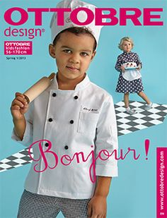New Year brings us a wonderful gift: OTTOBRE kids spring issue in SEVEN language editions - in our native languages Finnish and Swedish, in. Fashion Design For Kids, Fashion Kids, Kids Uniforms, Sewing Baby Clothes, Sewing Magazines, Uniform Design, Spring, Cute Toddlers, Sewing For Kids