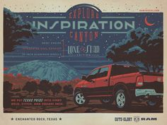Ram Trucks Inspiration  Advertising Agency: The Richards Group, Dallas, TX, USA  Creative Directors: Rob Baker, Jimmy Bonner  Art Director: Mike Latour  Copywriter: Chad Berry  Illustrators: Andy Gregg, Joel Anderson  Published: July 2012