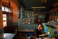 KAFENEION Traditional coffee shop, Kalarrytes, Tzoumerka, Ioannina, Epirus. Greek House, Greek Life, Greece Travel, Greece Trip, Coffee Places, Cafe Shop, Bakery Cafe, Amusement Park, Crete