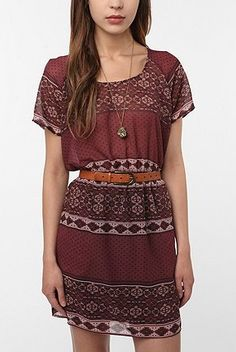 Staring at Stars Silky Printed Dress - One of my favorite dresses! Spencer wore it on Pretty Little Liars but I had it first haha