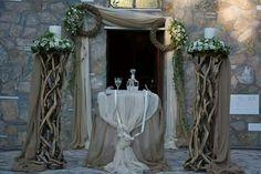 Church Wedding Decorations, Rustic Wedding, Wedding Ideas, Wedding Cards, Weddings, Wedding Ecards, Wedding, Marriage, Wedding Ceremony Ideas