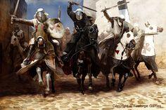 Siege of Acre by Mariusz Kozik vel Lacedemon