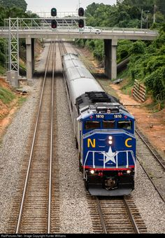 RailPictures.Net Photo: RNCX 1810 North Carolina Department of Transportation EMD F59PH at High Point, North Carolina by Hunter Williams