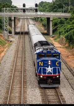 RNCX 1810 North Carolina Department of Transportation EMD F59PH at High Point, North Carolina by Hunter Williams