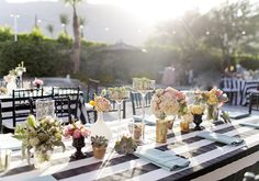 Whimsical Palm Springs wedding   photo by Jessica Claire Photography   100 Layer Cake