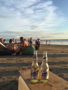 beach happiness at la plancha :) seminyak, bali