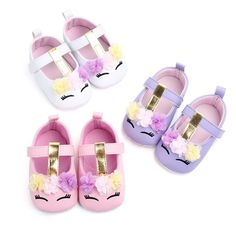 Fashion Baby Shoes Pu Infant Princess Shoes Spring Autumn Newly Anti-Slip Soft Sole Crib Booties Pre-Walkers Girl