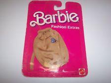 Barbie BROWN  T Shirt  Fashion Extras Mattel 1984