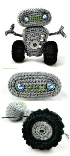 Crochet Cuddly Robot – Free Amigurumi Pattern - Crochet Amigurumi - 225 Free Crochet Amigurumi Patterns - Page 3 of 4 - DIY & Crafts