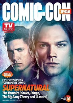 Supernatural on the cover of TV Guide Magazine.