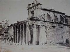"""1862 circa autore non identificato """"A"""" . Tempio di Antonino e Faustina."""