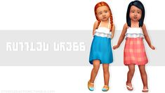 neecxle cc finds ☾✦ Sims 4 Toddler Clothes, Sims 4 Cc Kids Clothing, Toddler Outfits, Kids Outfits, Girl Clothing, Sims Mods, Maxis, Sims 4 Stories, Sims 4 Children