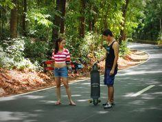 Photo Shoot: Downhill Longboarding spot at Bacnotan, La Union