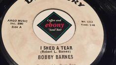 BOBBY BARNES - I SHED A TEAR