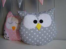 Poduszka SOWA przytulanka Snowman, Kids Room, Disney Characters, Couture, Owls, Feltro, Cushions, Pillows, Room