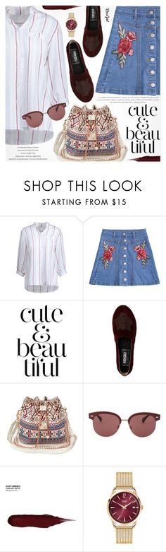 """""""Boho Chic"""" by pokadoll ❤ liked on Polyvore featuring WALL, Oliver Peoples, Urban Decay and Henry London"""