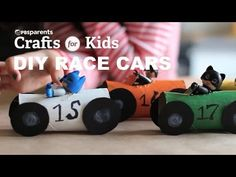 Start your engines! These DIY race cars, made from toilet paper rolls, will have your kids racing with joy. Learn how to make your own w/ @pbsparents.