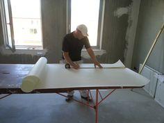 Renovlies behang. Goed alternatief voor stucwerk.