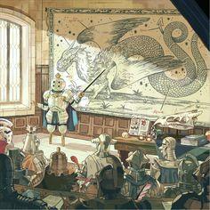 Critical Education - A gallery-quality illustration art print by Sam Bosma for sale. Kunst Inspo, Art Inspo, Art And Illustration, Art Illustrations, Arts Award, Fantasy Kunst, Wow Art, Art Graphique, Fantasy Inspiration