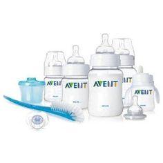 Buy Philips AVENT BPA Free Classic Infant Starter Gift Set Online Shopping…
