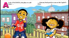 A is for Anacostia by Dr. Courtney Davis (Book Trailer)