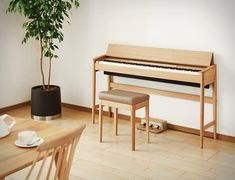 Buy a Digital piano in great price from us. Digital Piano is same as the accoustic piano. Portablity and other great features makes it more preferable as compare to the acoustic piano Piano Table, Piano Desk, Piano Bench, Keyboard Piano, The Piano, Best Piano, Piano Digital, Piano Living Rooms, Diy Furniture