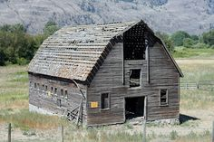 Oliver, BC, Canada. So Sad and Forlorne - this is a real neat building to photograph