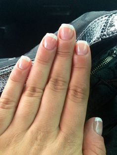 French Manicure Gel Overlay