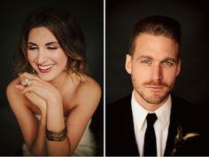 Black & Gold Wedding Inspiration.. I'm going to do a studio shoot for a wedding someday.