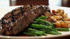 Soet patats en steak