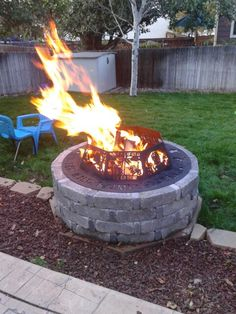 Where the wild things are inspired fire pit