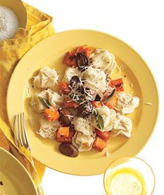 Tortellini with Butternut Squash, Mushrooms, and Fontina (2011)