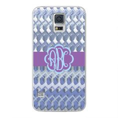 Samsung Galaxy S5 Crochet Monogram Case