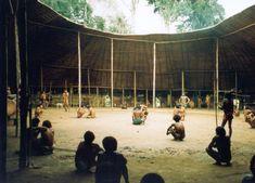 Shabono structures by the Yanomami - Inspiring families with fresh ideas on parenting at www.yano.co.uk, www.facebook.com/YanoLife & @YanoGlobal