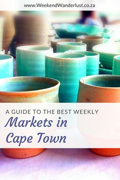 Cape Town is absolutely in love with markets. In Summer you see them pop up everywhere like mushrooms, and when it rains there are always indoor markets to keep you warm. There are all kinds of markets too like food and wine markets, craft...