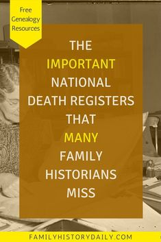 Find and Use the U. Census Mortality Schedules for Genealogy The Important national death registers that many family historians miss.