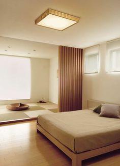 小泉照明 垣焔 KAIEN LEDシーリングライト (寝室) Home Decor Lights, Japan Design, Japanese Architecture, Living Room Art, Minimalist Bedroom, Minimal Design, Wood Wall, Light Colors, Garage