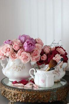 arreglos florales vajilla 05