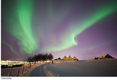 Iceland- The Upcoming Destination of Europe! Don't miss to see the unusual light show. http://planmytouronline.com/iceland-the-upcoming-destination-of-europe/